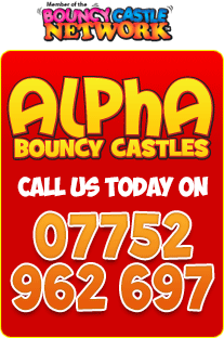 Alpha Bouncy Castles Surrey - Call today on 07752 692 697